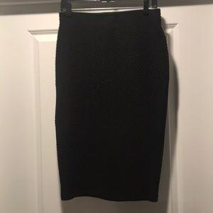 Apt 9 black pencil skirt M